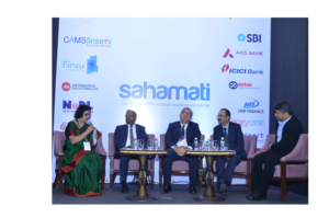 Fireside Chat with Early Adopters Moderator: Ms. Arundhati Bhattacharya, Former Chairperson SBI, Mr. Rajnish Kumar, Chairman SBI, Mr. Amitabh Chaudhary, MD & CEO Axis Bank, Mr. Anup Bagchi, Executive Director, ICICI Board of Directors, Mr. B. Madhivanan, COO, IDFC First