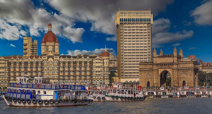 Gateway of India, Mumbai (Credits: Walkerssk from Pixabay)