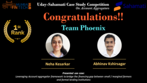 Uday-Sahamati Use Case Competition 2020: Team Phoenix led by Neha Kesarkar along with Abhinav Kshirsagar
