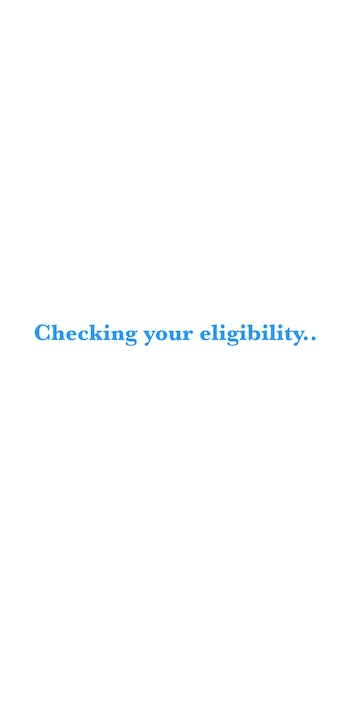 Checking loan eligibility on cleanLend FIU App